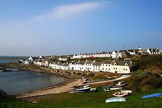 Portnahaven village in the United Kingdom