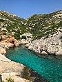 Porto Limnionas bay Zakynthos, Greece (32602235218).jpg