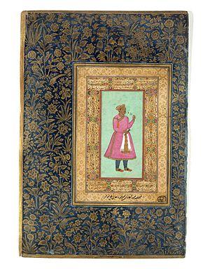 Mirza Ghazi Beg - Portrait of Mirza Ghazi
