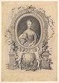 Portrait of Queen Marie-Antoinette in an ornamental frame MET DP824385.jpg