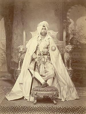 Rajinder Singh - Image: Portrait of Sir Rajinder Singh Maharaja of Patiala