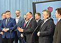 Posłowie klubu Kukiz'15 konferencja pracowa Sejm.jpg