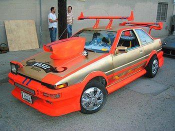 "An extreme example of ""Ricer;"" a Toy..."