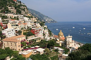 English: Part of Positano, Italy.