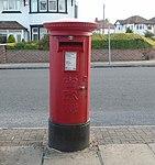 Post box at Wallasey Road Post Office.jpg