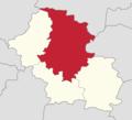 Powiat górowski - lokalizacja gminy Góra.png