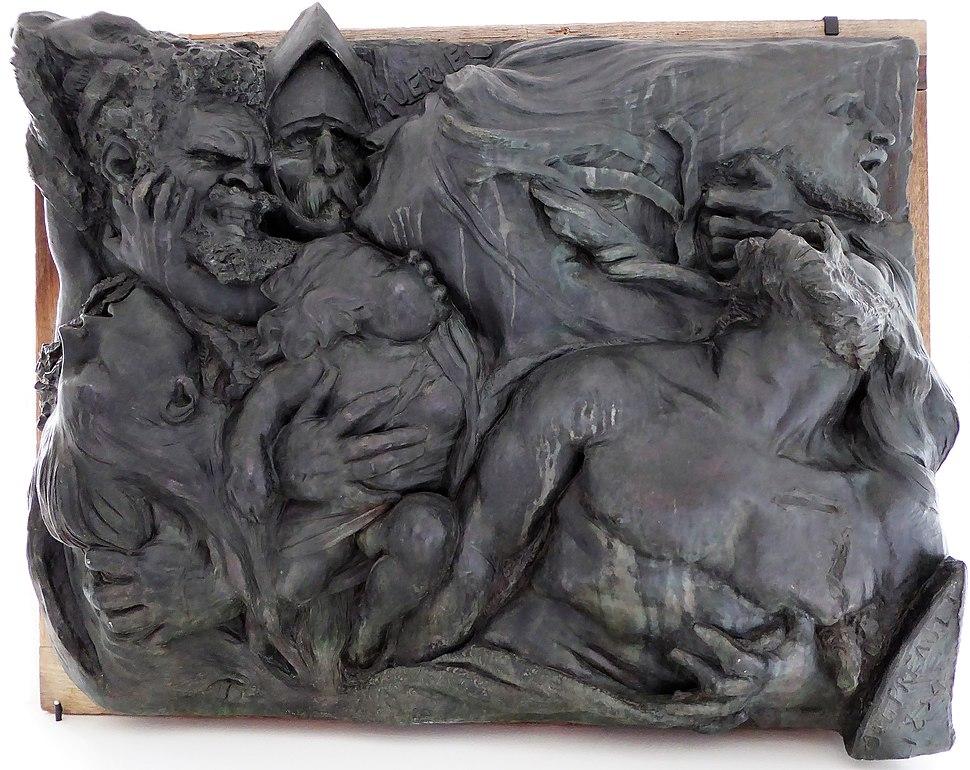 Préault Auguste Tuerie 1834-1850 musée de Chartres Eure-et-Loir France
