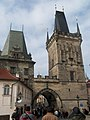 Praha, Malostranská mostecká věž - panoramio (3).jpg
