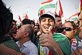 Pre-referendum, pro-Kurdistan, pro-independence rally in Erbil, Kurdistan Region of Iraq 01.jpg