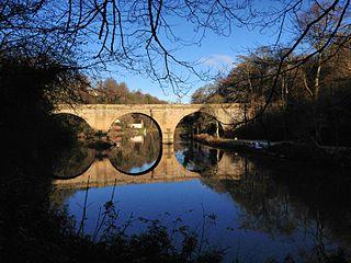 Prebends Bridge Grade I listed bridge in County Durham, United Kingdom
