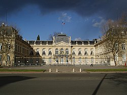 Prefecture building of the Yvelines department, in Versailles