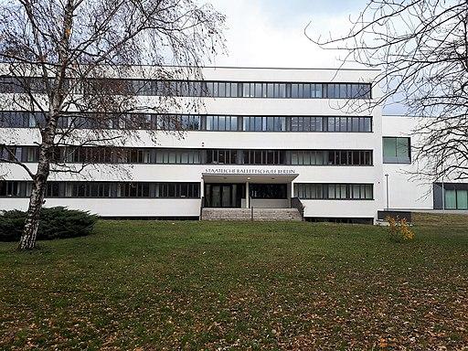 Prenzlauer Berg Erich-Weinert-Straße Staatliche Ballettschule
