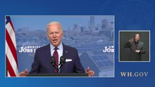 File:President Biden Delivers Remarks on the Historic Investments in the American Jobs Plan.webm