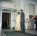 President John F. Kennedy with Abubakar Tafawa Balewa, Prime Minister of Nigeria (02).jpg