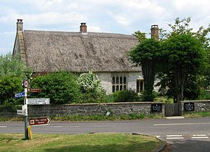 The Priest's House, Muchelney - Image: Priesthouse