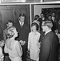 Prinses Beatrix bij de Club van 144 tijdens de receptie, v.l.n.r. Prinses Beatri, Bestanddeelnr 916-4613.jpg