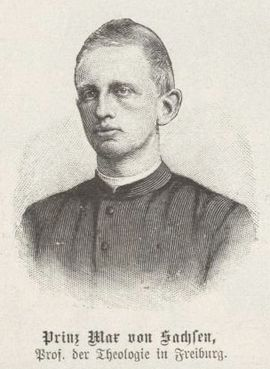 Max, Sachsen, Prinz