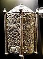 Processional lantern, Goa, India, 1600s, silver - Museu do Oriente - Lisbon, Portugal - DSC07038.JPG