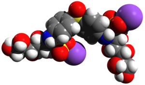 Promin - Image: Promin Molecular Structure Spacefill