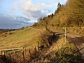 Public footpath off a minor road to St Briavels - geograph.org.uk - 1702504.jpg