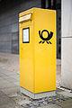 Public letterbox Deutsche Post Hannover Germany.jpg