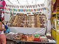 Puesto de dulces tradicionales Feria del mole 2014.JPG