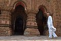Pujari - Vishnu Mandir - Eastern Side - Bansberia Royal Estate - Hooghly - 2013-05-19 7590.JPG