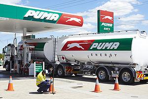Puma Energy - Puma Energy forecourt in Brisbane, Australia
