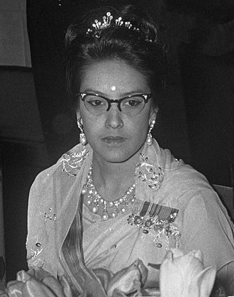 Queen Ratna of Nepal - Queen Ratna in 1967