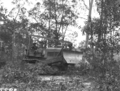 Queensland State Archives 1663 Site preparation and land clearing by bulldozer Serviceton Inala Brisbane c1950.png