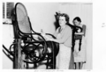 Queensland State Archives 4615 Queensland Institution for Blind recaning chairs August 1952.png
