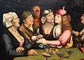 Quentin metsys (scuola), il matrimonio diseguale, 1525-30 ca. 03.JPG