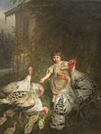 Quido Mánes - Girl with Turkeys.jpg