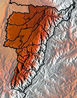 Địa hình tỉnh