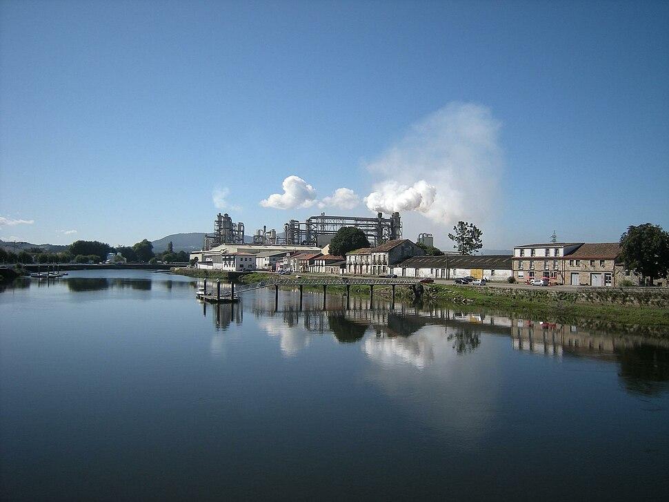 Río Ulla, Pontecesures