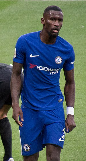 Antonio Rüdiger - Rüdiger with Chelsea in 2017