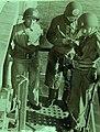 RADM Alan G. Kirk, watches MG Tory H. Middleton head ashore, Sicilian Invasion, 1943 (42513) (22621320281).jpg