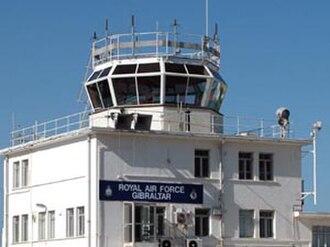 RAF Gibraltar - Image: RAF Gibraltar control tower
