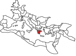 Location of Achaea