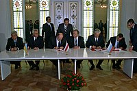 RIAN archive 848095 Signing the Agreement to eliminate the USSR and establish the Commonwealth of Independent States.jpg
