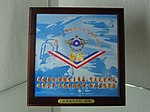 ROCAF 814 Victory 66th Anniversary souvenir plate in SYSMH 20131015.jpg