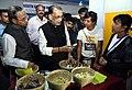 Radha Mohan Singh along with the Governor of Meghalaya, Shri Ganga Prasad visiting the exhibition stalls at the launch of the Meghalaya Milk Mission, in Shillong, Meghalaya.JPG