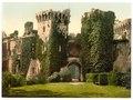 Raglan Castle, I., Wales-LCCN2002708065.tif