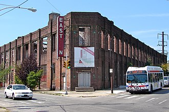 National Register of Historic Places listings in North Philadelphia - Image: Railway Express Philly a