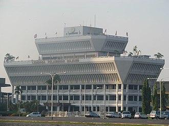 Rajang River - The Rajang Port Authority in Sibu