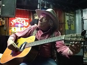 Ramblin' Jack Elliott - Ramblin' Jack Elliott at Knuckleheads Saloon's in Gospel Lounge on May 2, 2013