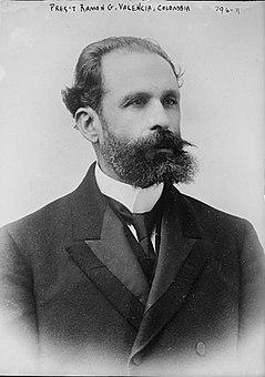 Ramón González Valencia President of Colombia