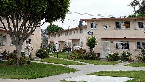 Public Housing In Los Angeles California