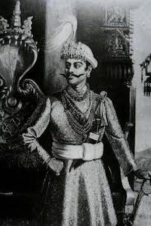 Rana Bahadur Shah - Aggressive looking Rana Bahadur Shah