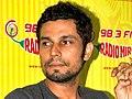 Randeep Hooda at 98.3 FM Radio Mirchi.jpg